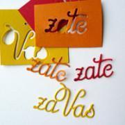 šablone besede napisi