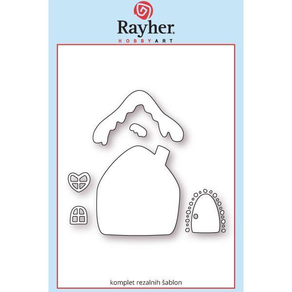 rayher zasneženi-dom